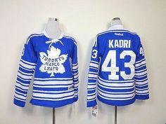 Maple Leafs #43 Nazem Kadri Blue 2014 Winter Classic Women's Embroidered NHL Jersey