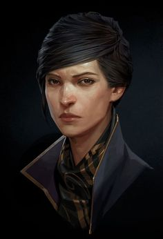 Emily Face from Dishonored 2