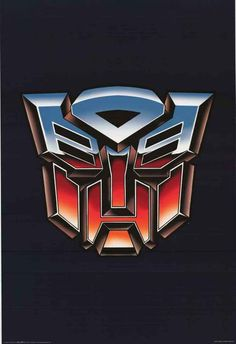 Transformers Autobot Logo Cartoon Poster 24x36