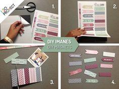 DIY imanes DIY magnets