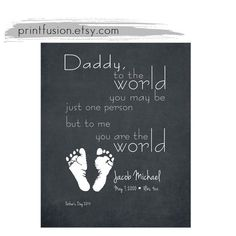 Sale fathers day gift from baby Grandfather Grandmother Mom Birthday Christmas Anniversary from Baby newborn footprint Printable DIY inkless
