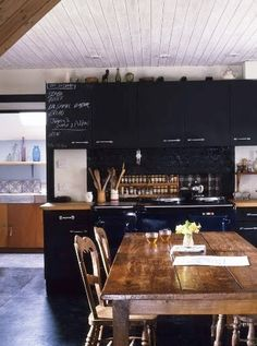45 Ideas To Use Chalkboard Walls In Different Rooms | Shelterness