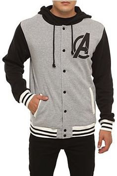The Avengers Hoodie from Hot Topic... I want!