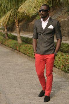 Nigerian men fashion. Now THAT is how men should dress. Boom.