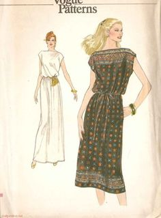 Hard to Find 70s Very Easy Vogue Patterns Misses by scarlettess, $8.95