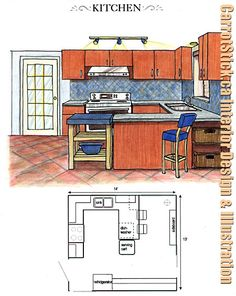 39 best kitchen floor plans images floors kitchen kitchen floors kitchen floor plans on kitchen remodel planner id=21421