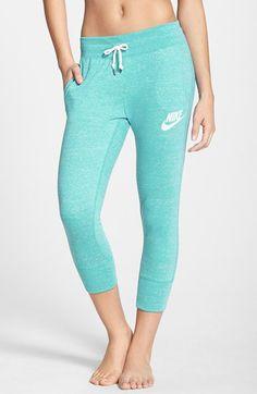 Super cute sweatpants! Love the color