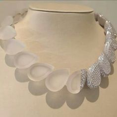 Diamond and rock crystal. Boucheron