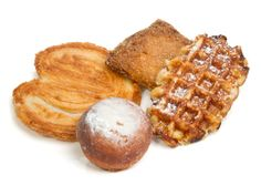 Liege waffles, palmiers, etc at Colson Patisserie