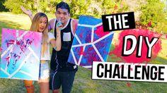 THE DIY CHALLENGE: LaurDIY VS. Alex Wassabi
