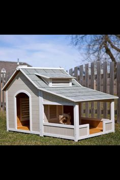 Having a porch is a great way to make sure that your dog has a place to host other dogs when they come over.