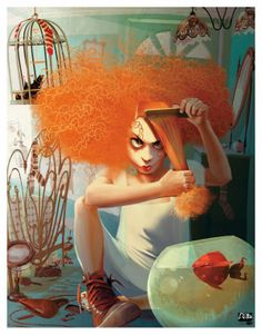 Illustration by Francesca D'Ottavi #art #illustration