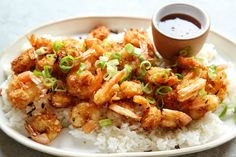 Coconut Shrimp with Spicy Honey