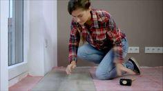 Vinylboden verlegen | Klick Vinyl verlegen - YouTube | Vinylboden ...