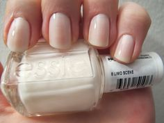 "Essie Limo Scene - perfect glossy neutral. The best color to feel ""polished."""