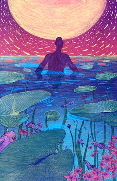 Boya sun illustrations в 2019 г. art, spiritual paintings и sun illustratio Art Painting, Art Photography, Psychedelic Art, Art Drawings, Hippie Art, Illustration Art, Art, Beautiful Art, Aesthetic Art