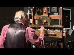David Leffel: Still life with orange. - YouTube