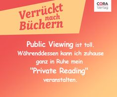 #bücher #lesen #coraverlag #em #publicviewing #verrücktnachbüchern