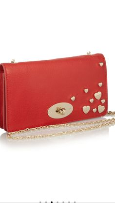 Mulberry Valentines Bayswatch leather clutch from Net-a-poter
