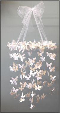 Handmade Chandelier DIY- gorgeous for a nursery or big girl room Diys, Handmade Chandelier, Diy Chandelier, Mobile Chandelier, Hula Hoop Chandelier, Flower Chandelier, Girls Bedroom Chandelier, Circle Chandelier, Decorative Chandelier