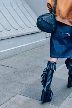 Boots, Balenciaga, J.W. Anderson