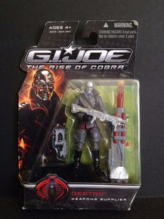 Hasbro G.I. Joe The Rise of Cobra Destro (Weapons Supplier) Action Figure #Hasbro
