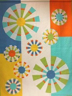 Made by Debby Soll called my Kaleidoscope, made with a 15 degree ...