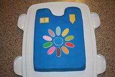Girl Scout Daisy tunic cake