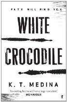 White Crocodile By K. T. Medina - Every so often a thriller appears that offers more to the reader than just entertainment. White Crocodile is just that.  When emotionally damaged mine-clearer Tess Hardy travels to Cambodia to find out the truth behind her ex-husband's death, she doesn't know much about the country or its beliefs.  On arrival, she finds that teenage mothers are going missing, while others are being found mutilated and murdered. As local superstitions breed fear,