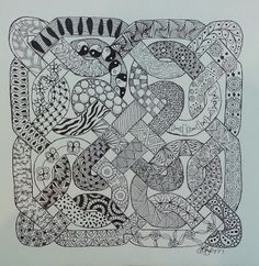 Creative Doodling with Judy West: Celtic Challenge 31