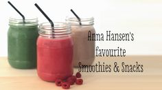 Nutritionist shares her favourite Smoothies & Snacks Snack Recipes, Cooking Recipes, Snacks, Breakfast Cookies, Truffles, Smoothies, Toddlers, Nutrition, Fruit