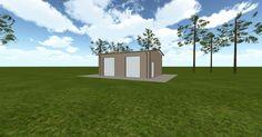 3D #architecture via @themuellerinc http://ift.tt/2nmGSkm #barn #workshop #greenhouse #garage #DIY