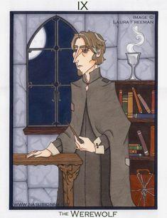 Fan-made Harry Potter Tarot Cards by Laura Freeman