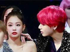 Swag Couples, Kpop Couples, Cute Couples, Jimin Hot, Bts Jimin, Kim Jennie, Korean Couple, Korean Girl, Blackpink And Bts