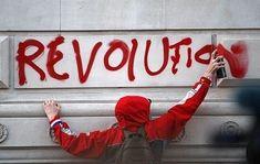 Imagen de revolution, black and white, and art