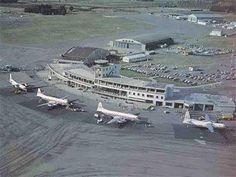 Christchurch Airport 1980's