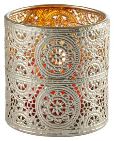 Teelicht-Halter mit orientalischem Ethno Muster Spirit Of Summer, Candle Holders, Candles, Home Decor, Products, Accessories, Hang In There, Decorating, Colors