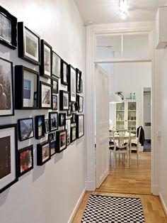 Un piso pequeño en colores neutros