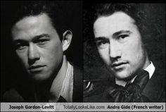 Joseph Gordon-Levitt Totally Looks Like Andre Gide (French writer)