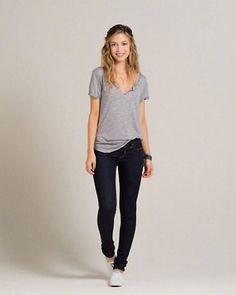 Girls Hollister Super Skinny Jeans