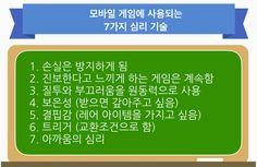by AppMarketingLabo  모바일 미디어 AppMarketingLabo와 모비인사이드가 파트너십으로 제공되는 자료입니다. 원본 기사는 아래 링크를 통해 확인할 수 있습니다. (원본 기사 링크:http://appmarketinglabo.net/game-psychology/)  게임 컨설턴트인 'Mr.Dori'가 작성한 '모바일 게임에서 사용되는