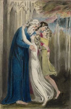 William Blake's newly discovered and perfectly preserved watercolour Parental Affection or The Meeting Of A Family In Heaven William Blake Paintings, English Poets, Art Boards, Printmaking, Original Art, My Arts, Parenting, Watercolor, Fine Art