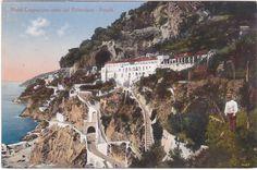 Amalfi - Salerno - Hotel Cappuccini Visto Dal Belvedere -85994- FOR SALE • EUR 5,00 • See Photos! Money Back Guarantee. CARTOLINA FORMATO PICCOLO NON VIAGGIATA. SPESE SPEDIZIONE PER L'ITALIA: prioritaria euro 2,00 (a rischio acquirente in caso di perdita); raccomandata euro 5,00; assicurata euro 7,50. SHIPPING COSTS TO EUROPE, AMERICA, 381455635815