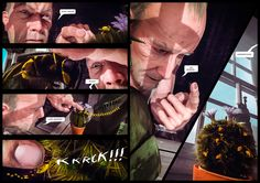 """THE WAVING MAN"" - AN EPIC CGI GRAPHIC NOVEL  The first installment of a new blockbuster comic book series.   COMING TO KICKSTARTER OCTOBER 2016  Become a part of the story! Follow us!   amokcomics.com  #amokcomics #thewavingman #kickstarter #graphicnovel #geek #sciencefiction #comicart #comicbook #comics #scifi #publish #conspiracy #books #novel #print #mystery #fantasyart #art #cgi #cgicomic"