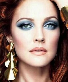 """The photo """"Drew Barrymore"""" has been viewed 189 times. Drew Barrymore Makeup, Drew Barrymore Style, Dolores Costello, Most Beautiful Eyes, Beautiful People, Skin Makeup, Beauty Makeup, Makeup Style, Timeless Beauty"""