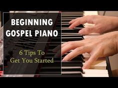 Here are six tips to get you started playing gospel piano! This tutorial will teach you how to use several stylistic elements that are common to gospel piano. Free Piano Lessons, Music Lessons, Art Lessons, Piano Music With Letters, Piano Sheet Music, Guitar Chords For Songs, Piano Songs, Teach Yourself Piano, Piano Teaching