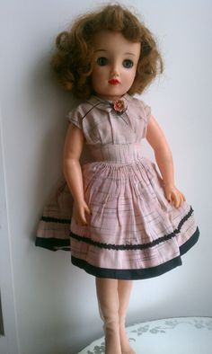 Vintage Doll Revlon 1950's Ideal Doll 17""