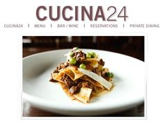 Cucina24 • Cucina24 is a restaurant located in downtown Asheville offering honest interpretations of classic Italian tastes. • www.facebook.com/pages/Cucina24/97684939244 • www.cucina24restaurant.com