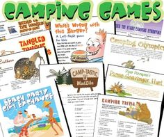 Camping Activities - Best Cool Camping Activities -- Click image for more details. #CampingActivities
