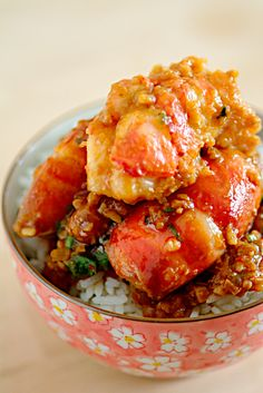 Har Lok (虾烙): Tiger Prawns with Spicy Fermented Bean Sauce - Life is Great